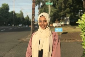 Sanaa Shareef: 2018 Keren Goldenberg public interest scholarship recipient